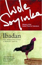 Cover of: Ibadan: the penkelemes years : a memoir: 1946-1965