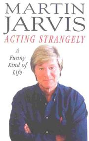 Cover of: Acting Strangely