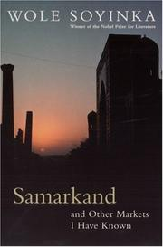 Cover of: Samarkand and other markets I have known