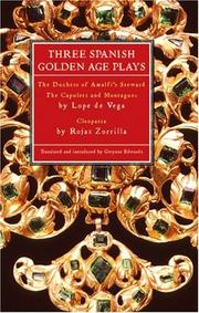Cover of: Spanish Golden Age Plays
