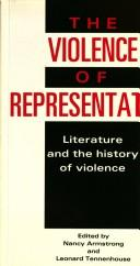 Cover of: The Violence of Representation