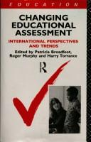 Cover of: Changing Educational Assessment