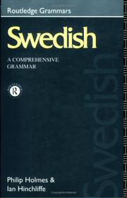 Cover of: Swedish
