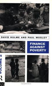 Cover of: Finance Against Poverty
