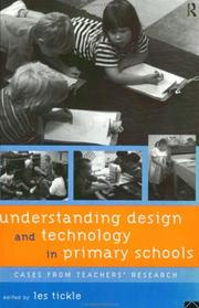 Cover of: Understanding Design and Technology in Primary Schools