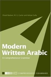 Cover of: Modern Written Arabic