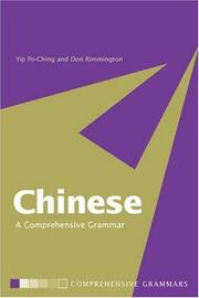 Cover of: Chinese