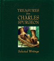 Cover of: Treasures from Charles Spurgeon: selected writings.