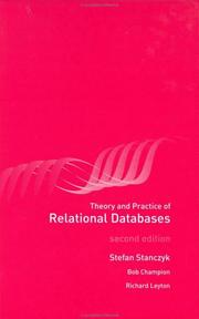 Cover of: Theory and Practice of Relational Databases, Second Edition