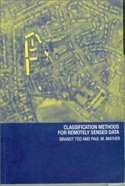 Cover of: Classification Methods for Remote Sensed Data