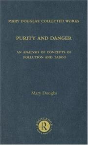 Cover of: Purity and Danger: Mary Douglas