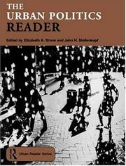 Cover of: The Urban Politics Reader (Routledge Urban Readers Series)