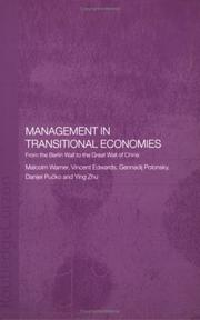 Cover of: Management in Transitional Economies