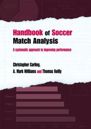 Cover of: Handbook of Soccer Match Analysis