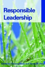 Cover of: RESPONSIBLE LEADERSHIP