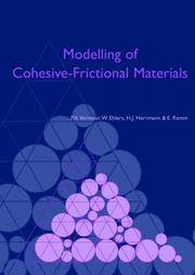 Cover of: Modelling of Cohesive-Frictional Materials