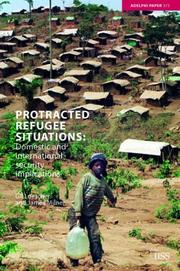Cover of: Protracted Refugee Situations