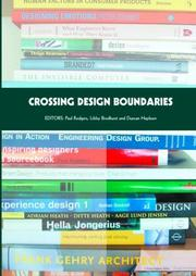 Cover of: Crossing Design Boundaries