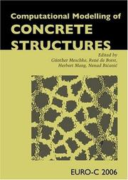 Cover of: Computational Modeling of Concrete Structures