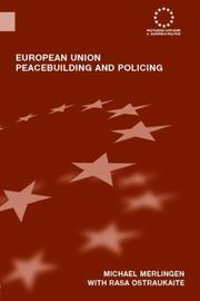 Cover of: European Union Peacebuilding and POlicing