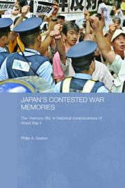 Cover of: Japan's Contested War (Routledge Contemporary Japan)