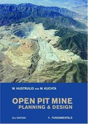 Cover of: Open Pit Mine Planning and Design, Second Edition (Two Volume Set + CD)