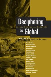 Cover of: Decphering the Global