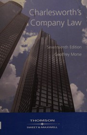 Cover of: Charlesworth's Company Law