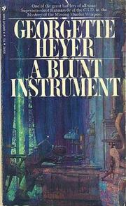 Cover of: Blunt Instrument