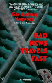 Cover of: Bad News Travels Fast (Joe and Dottie Loudermilk Mysteries)