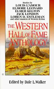 Cover of: The Western Hall of Fame Anthology