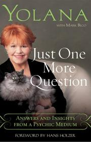 Cover of: Just One More Question