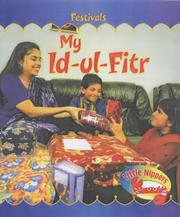 Cover of: My Id-Al-Fitr (Festivals (Steck-Vaughn))
