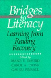 Cover of: Bridges to Literacy