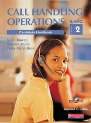 Cover of: Call Handling Operations S/NVQ