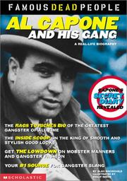 Cover of: Al Capone and His Gang (Famous Dead People)