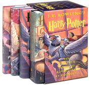 Cover of: Harry Potter Hardcover Boxed Set (Books 1-4)