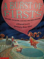 Cover of: A burst of firsts: doers, shakers, and record breakers