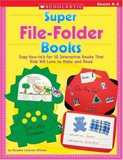 Cover of: Super File-Folder Books