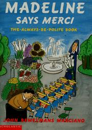 Cover of: Madeline Says Merci