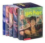 Cover of: Harry Potter Hardcover Boxed Set with Leather Bookmark (Books 1-5)