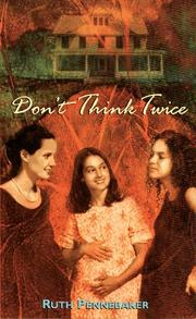 Cover of: Don't Think Twice (Laurel-Leaf Books)