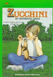 Cover of: Zucchini