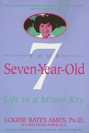Cover of: Your Seven-Year-Old