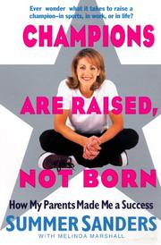 Cover of: Champions Are Raised, Not Born