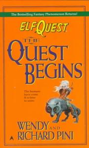 Cover of: The Quest Begins (Elfquest , No 2)