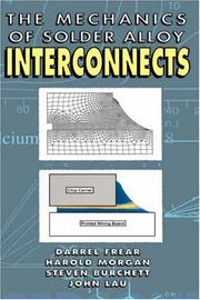 Cover of: Mechanics of Solder Alloy Interconnects (Electrical Engineering)