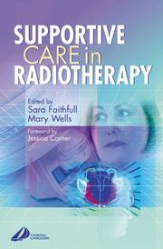 Cover of: Supportive care in radiotherapy