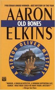 Cover of: Old bones: a Gideon Oliver mystery