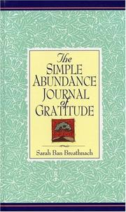 Cover of: Simple Abundance Journal of Gratitude